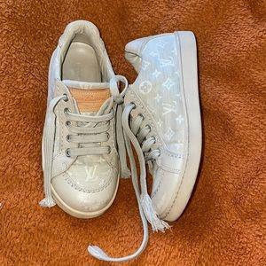 Vintage Louis Vuitton kids shoes